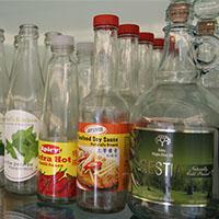 食品玻璃瓶标签