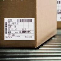 物流纸箱标签
