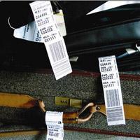 行李不干胶标签