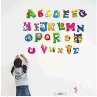 儿童字母贴纸