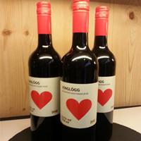 红酒瓶标签